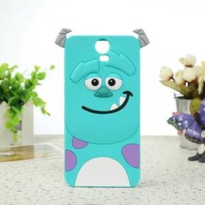 Силиконовый дизайнерский фигурный чехол для HTC One E9+