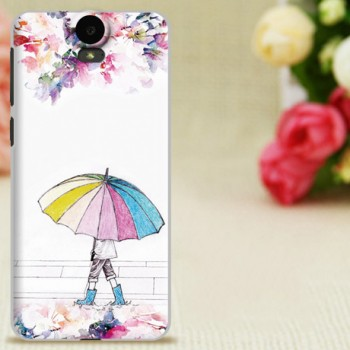 Пластиковый матовый дизайнерский чехол с УФ-принтом для HTC One E9+