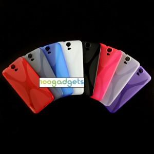 Силиконовый X чехол для HTC One E9+