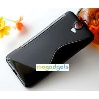 Силиконовый S чехол для HTC One E9+ Черный
