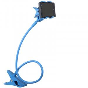 Экстралегкий 200 гр держатель гаджетов на гибком стебле и клипсе длина 70 см размах 120 мм Голубой