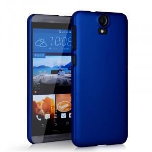 Пластиковый матовый непрозрачный чехол для HTC One E9+ Синий