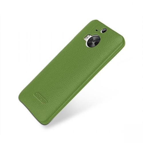 Кожаный чехол накладка (нат. кожа) для HTC One M9+