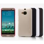 Пластиковый матовый нескользящий премиум чехол для HTC One M9+