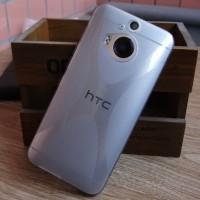 Силиконовый X чехол для HTC One M9+ Серый