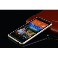 Металлический бампер для HTC One M9+ Серый