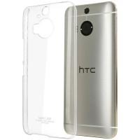Пластиковый транспарентный чехол для HTC One M9+