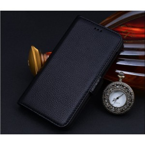 Кожаный чехол портмоне подставка (нат. кожа) для HTC One M9+