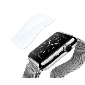 Экстразащитная термопластичная саморегенерирующаяся уретановая пленка на плоскую и изогнутые поверхности экрана для Apple Watch 38мм