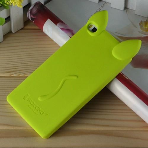 Силиконовый дизайнерский фигурный чехол для Huawei P8