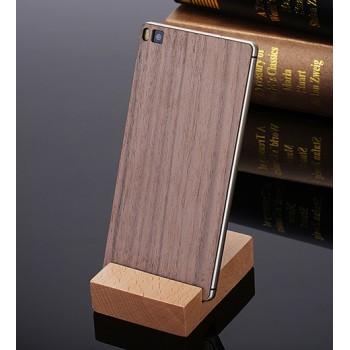 Клеевая натуральная деревянная накладка для Huawei P8