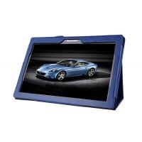 Чехол подставка с рамочной защитой для Lenovo Tab 2 A10-70/Tab 3 10 Business Синий