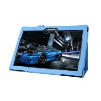 Чехол подставка с рамочной защитой для Lenovo Tab 2 A10-70/Tab 3 10 Business Голубой
