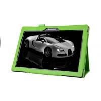 Чехол подставка с рамочной защитой для Lenovo Tab 2 A10-70/Tab 3 10 Business Зеленый