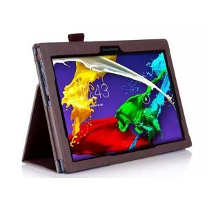 Чехол подставка с рамочной защитой и внутренними отсеками для Lenovo Tab 2 A10-70/Tab 3 10 Business