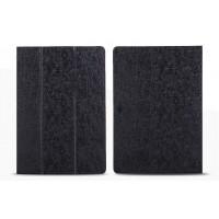 Чехол подставка с рамочной защитой текстура Линии для Lenovo Tab 2 A10-70/Tab 3 10 Business Черный