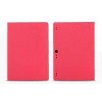 Чехол подставка с рамочной защитой текстура Линии для Lenovo Tab 2 A10-70/Tab 3 10 Business Розовый