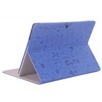 Текстурный чехол подставка с рамочной защитой для Lenovo Tab 2 A10-70/Tab 3 10 Business