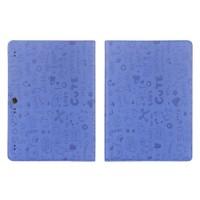 Текстурный чехол подставка с рамочной защитой для Lenovo Tab 2 A10-70/Tab 3 10 Business Синий