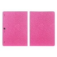 Чехол подставка с рамочной защитой текстура Соты для Lenovo Tab 2 A10-70/Tab 3 10 Business Пурпурный