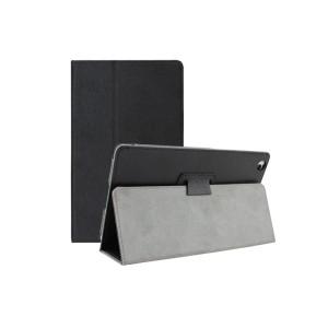 Текстурный чехол подставка с рамочной защитой для Lenovo Tab 2 A8