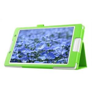 Чехол подставка с рамочной защитой для Lenovo Tab 2 A8 Зеленый