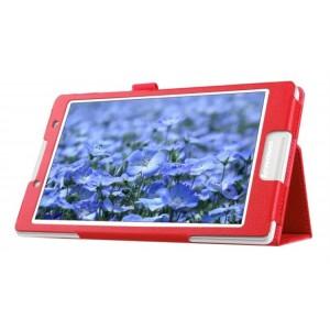 Чехол подставка с рамочной защитой для Lenovo Tab 2 A8 Красный