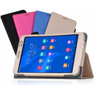 Чехол подставка с рамочной защитой для Huawei MediaPad X2