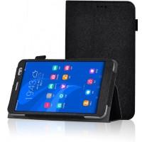 Чехол подставка с рамочной защитой для Huawei MediaPad X2 Черный