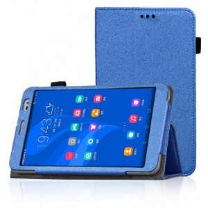Чехол подставка с рамочной защитой для Huawei MediaPad X2 Синий