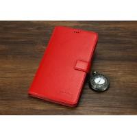 Кожаный чехол портмоне (нат. кожа) для Huawei MediaPad X2 Красный