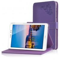 Чехол подставка текстурный для Huawei MediaPad M2 8.0 Фиолетовый