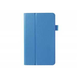 Чехол подставка с рамочной защитой для Huawei MediaPad M1 8.0 Голубой