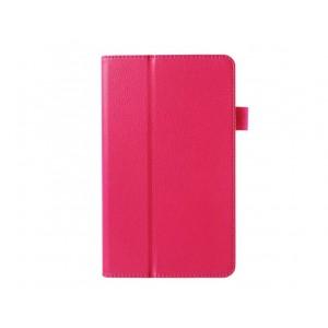 Чехол подставка с рамочной защитой для Huawei MediaPad M1 8.0 Пурпурный