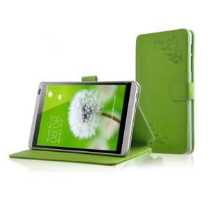 Чехол подставка текстурный для Huawei MediaPad M1 8.0 Зеленый