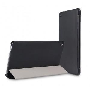 Чехол флип подставка сегментарный для Huawei MediaPad M1 8.0 Черный