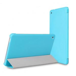 Чехол флип подставка сегментарный для Huawei MediaPad M1 8.0 Голубой