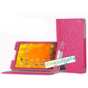 Текстурный чехол подставка с рамочной защитой для Huawei MediaPad M1 8.0