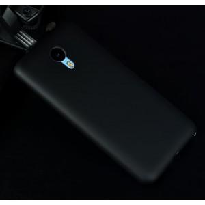 Пластиковый матовый металлик чехол для Meizu M2 Note