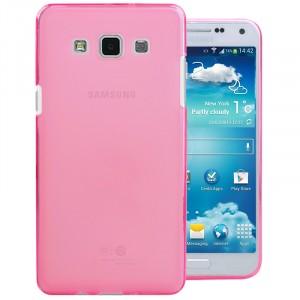 Силиконовый матовый полупрозрачный чехол для Samsung Galaxy A5