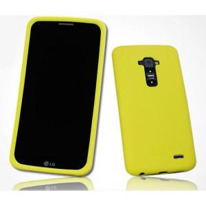 Премиум софт-тач силиконовый чехол для LG G Flex