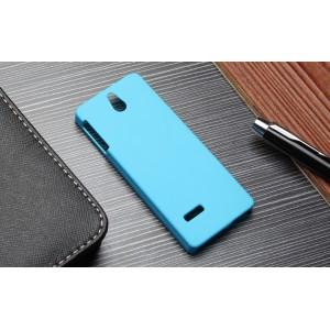 Пластиковый матовый непрозрачный чехол для Nokia 515