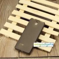 Силиконовый матовый чехол для Nokia 515 Серый