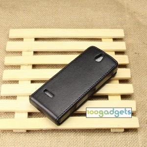 Чехол вертикальная книжка на пластиковой основе с магнитной застежкой для Nokia 515