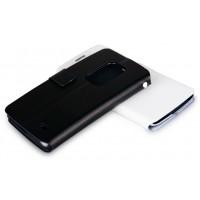 Чехол флип с отделением для карт для LG G Flex Черный