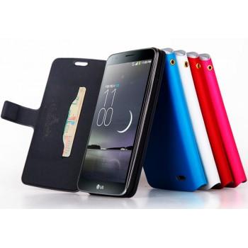 Чехол флип с отделением для карт для LG G Flex