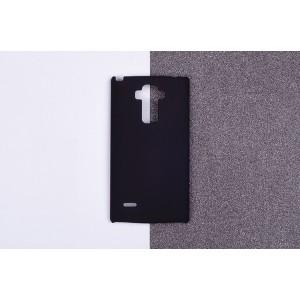 Пластиковый матовый непрозрачный чехол для LG G4 Stylus