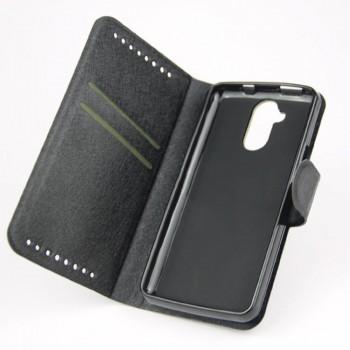Текстурный чехол портмоне подставка с защелкой для Acer Liquid Z410