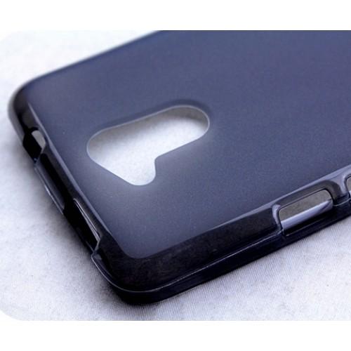 Силиконовый матовый полупрозрачный чехол для Acer Liquid Z410 Розовый