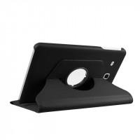 Чехол подставка роторный для Samsung Galaxy Tab E 9.6 Черный